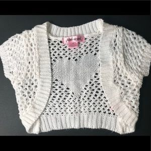 Pink Angel Short Sleeve Sweater